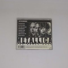 Cd - Metallica - The Early Days - comprar online