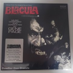 Vinilo - Blacula - Deadlier Than Dracula