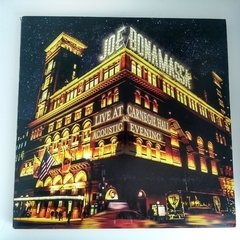 Disco Vinilo - Joe Bonamassa - Live At Carnegie Hall An Acoustic Evening