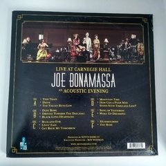 Disco Vinilo - Joe Bonamassa - Live At Carnegie Hall An Acoustic Evening - comprar online