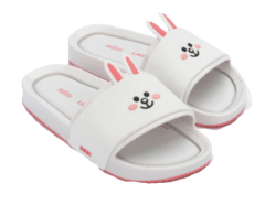 Chinelo Melissa Beach Slide + Line Friends
