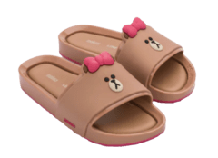 Chinelo Melissa Beach Slide + Line Friends - comprar online