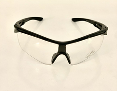 Lentes Color Transparentes Medio Marco UV 400 protection Running Bike Trail Unisex Modelo Barcelona Antiempañante