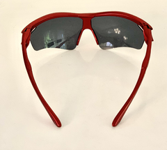 Lentes Color Rojo Medio Marco UV 400 protection Running Bike Trail Unisex Modelo Barcelona Antiempañante - FotoRun Shop