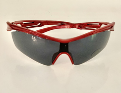 Lentes Color Rojo Medio Marco UV 400 protection Running Bike Trail Unisex Modelo Barcelona Antiempañante - comprar online