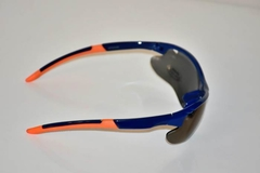 Lentes color Azul con vivos Naranja UV400 protection Unisex en internet