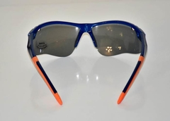 Lentes color Azul con vivos Naranja UV400 protection Unisex - FotoRun Shop