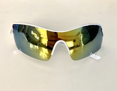 Lentes color Blanco UV 400 Protection Running Trial Running Ciclismo Triatlon