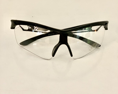 Lentes Color Transparentes Medio Marco UV 400 protection Running Bike Trail Unisex Modelo Barcelona Antiempañante - comprar online