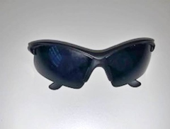 Lentes Negros UV 400 protection Ciclismo Running Trail Casual