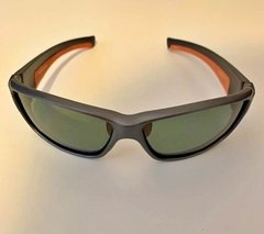 Lentes Color Gris Vivos Naranja POLARIZADOS UV400 Protection Running Trail Tria Bicicleta - FotoRun Shop