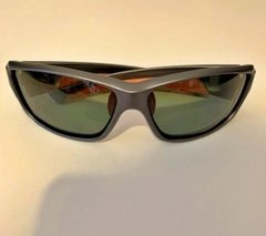 Lentes Color Gris Vivos Naranja POLARIZADOS UV400 Protection Running Trail Tria Bicicleta