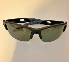Lentes color negro vivos Gris Polarizados UV 400 protection Bicicleta Running Trail Tria Casual