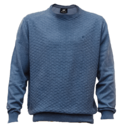 Sweater fantasia escote redondo
