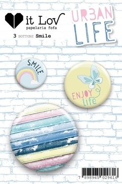 Botton Smile - Urban Life - It lov