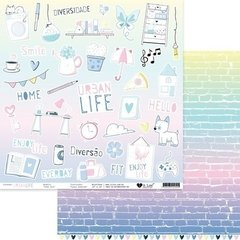 Papel Todo Dia - Urban Life - It Lov