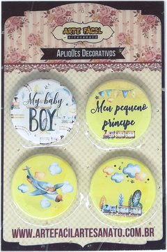 Botton Baby Boy - Arte Fácil