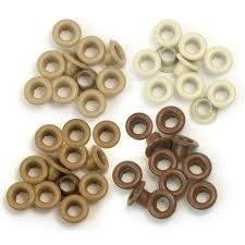 Ilhos - Eyelets & Washer Standard Brown - We R Memory Keepers