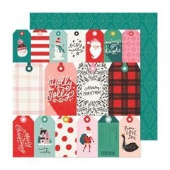 Papel - Be Jolly - Hey, Santa - Crate Paper
