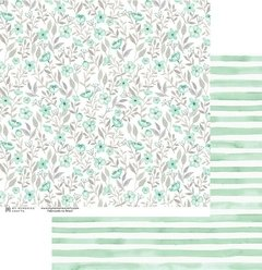 Papel Verde - My Flower - My Memories Crafts
