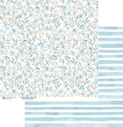 Papel Azul - My Flower - My Memories Crafts