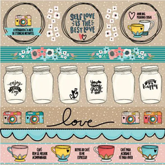 Papel - Click and love - Love - Goodies