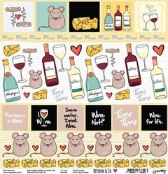 Papel - Kitchen & Go - Wine & Cheese - Goodies