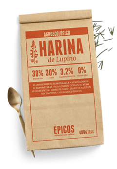 Harina Agroecologica de Lupino (400 grs)