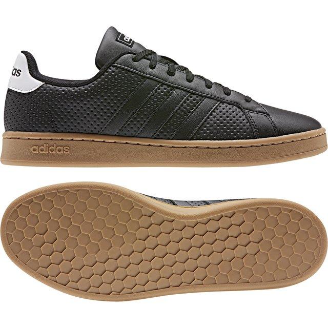 zapatillas adidas negras grand court