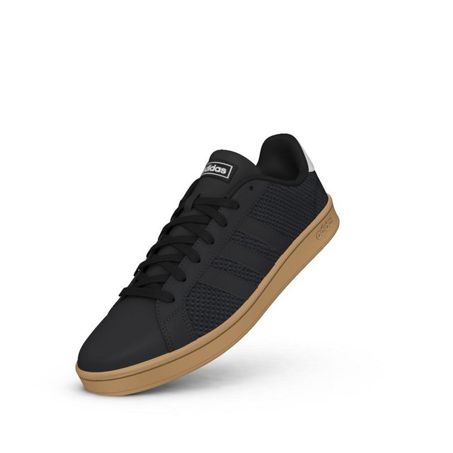 espacio Rocío Muscular  Zapatillas Grand Court Adidas Negras *