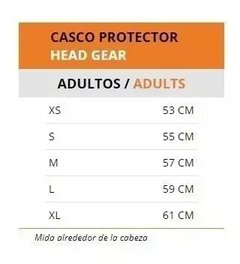 CASCO PRO HEAD GUARD - PLANETA SPORT