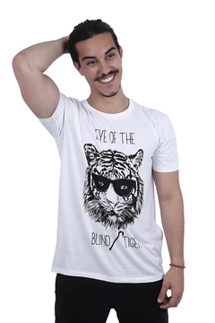 T-SHIRT THE BLIND TIGER - bypride