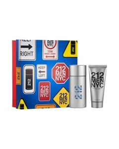 212 MEN EDT 100 ML + AFTER SHAVE GEL