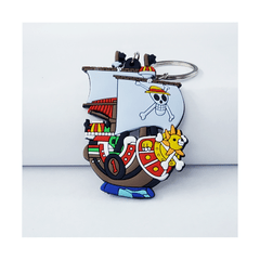 Llavero de Silicona - One Piece - Barco Pirata Thousand Sunny