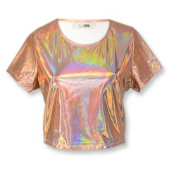 Remera Shelley Holografico - Soana