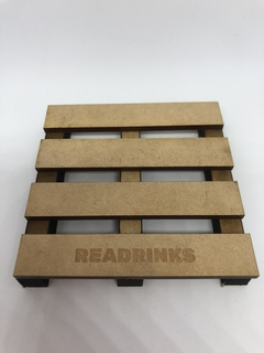 Posavasos Pallet - Readrinks