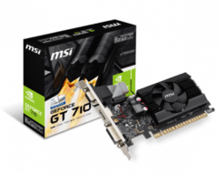 Placa de video MSI GT 710 2GD3 LP