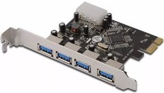 PLACA PCI-E a 4 puertos USB 3.0 NETMAK NM-E340