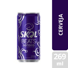 Cerveja Skol Beats Sense Lata 269ml Cx8 na internet