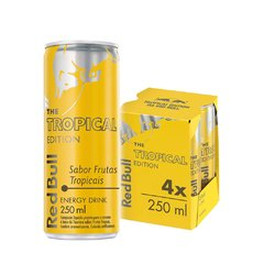 Red Bull Tropical 4pack 250ml