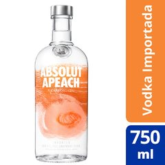 Vodka Absolut Apeach 750ml - comprar online