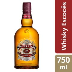 Whisky Chivas Regal 12yo 750ml - comprar online