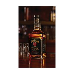 Whiskey Jim Beam Black Extra Aged 1000ml na internet