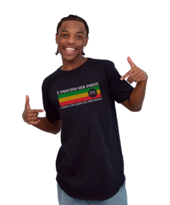 Camiseta Long Preta - Dreadlock