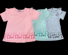 remera LOVE en internet