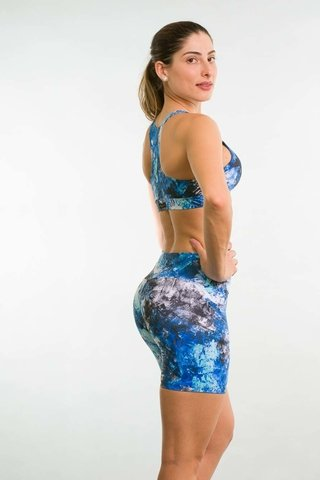 Bermuda Fitness Feminina Estampada APB Up