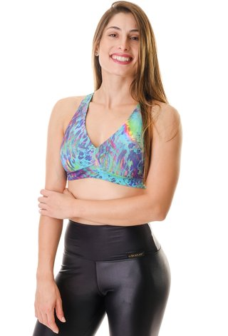 Top Fitness Estampado VRA Himalaya