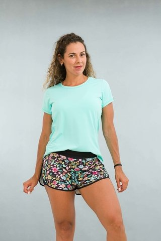 Shorts Fitness Feminino Estampado Floral Advance