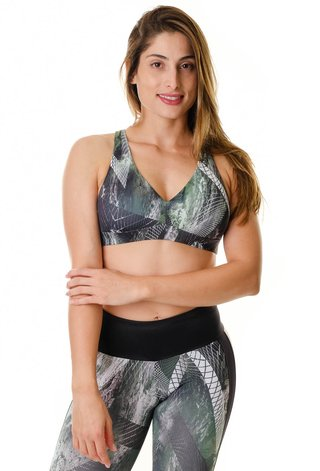 Top Fitness Estampado VRD Himalaya