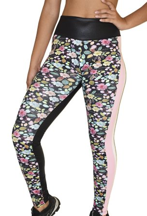 Legging Fitness Estampada Floral Suprema